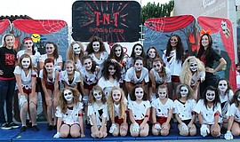 Promotional photo of the TNT Performing Company dance troupe at a HauntFest. Courtesy of the City of El Cajon.