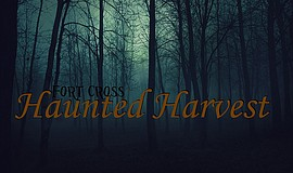 Promotional graphic for Fort Cross' Haunted Harvest event on Friday, Oct. 21,...