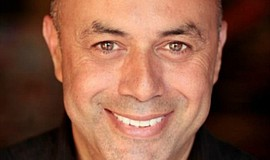 A photo of playwright Herbert Siguenza, courtesy of San Diego Rep.