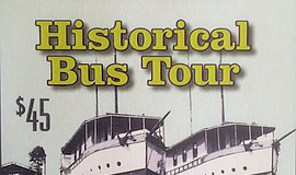 Promotional flier for the Encinitas Historical Bus Tour. Courtesy of the City...