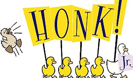 "Promotional graphic for ""Honk! Jr."""