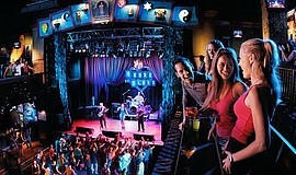 Promotional photos of the SDiFF Indie Night at the House of Blues.