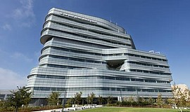 Photo of the new Jacobs Medical Center.