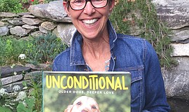 Photographer and author Jane Klonsky holds up her latest book set to release ...