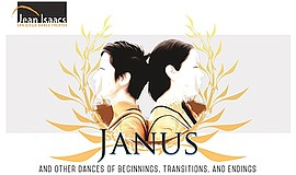 A poster for San Diego Dance Theater's Janus program.