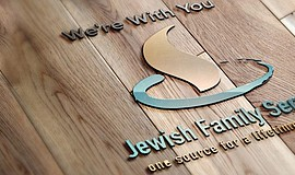 Logo for Jewish Family Services.
