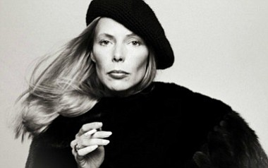 A photo of Joni Mitchell, courtesy of the artist.