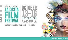 Promotional graphic for the La Costa Film Festival.