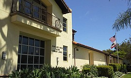 Exterior view of the La Jolla Library.