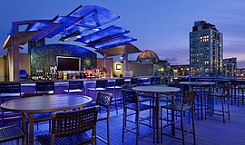 Promotional photo of Level 9 Rooftop Bar.