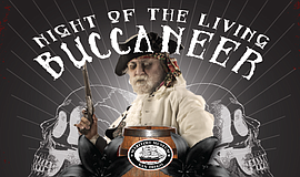 Promotional flier for Maritime Museum of San Diego's Night of the Living Bucc...