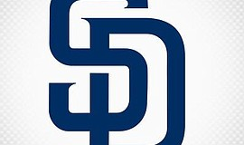 Official logo for the San Diego Padres. Courtesy of the San Diego Padres.