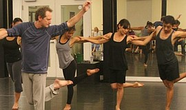 Photo of a Malashock dance class.