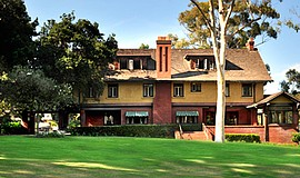 Promotional photo of the Marston House Museum designed by Irving J. Gill. Cou...