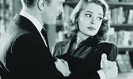 "Kirk Douglas as Whit and Jane Greer as Kathie in ""Out of the Past."""