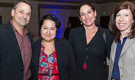 Participants at a previous luncheon. Courtesy of San Diego Regional Chamber o...