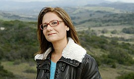 Promotional photo of author Mina Javaherbin