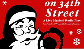 "A poster for ""Miracle on 34th Street,"" courtesy of San Diego Musical Theatre."