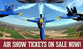 Promotional photo for MCAS Air Show. Courtesy of the Miramar Marine Corps Air...