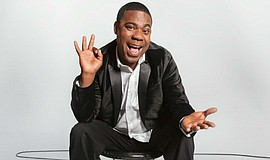 A photo of comedian Tracy Morgan.