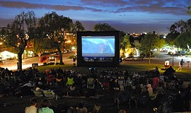 Photo of a Summer movies in the park event.