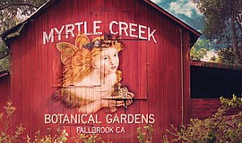 Promotional photo for Myrtle Creek Botanical Gardens & Nursery. Photo Credit:...