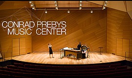 Promotional photo for the Conrad Prebys Music Center.