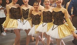 A photo of dancers from New West Ballet, courtesy of the company.