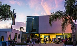 Photo of the Oceanside Museum of Art. Photo credit: George Salter. Courtesy o...