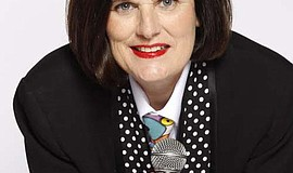 Promotional photo of comedian Paula Poundstone. She will headline at Humphrey...