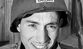 "Promotional photo of Tony Vaccaro, the man whom ""Underfire: The Untold Story ..."