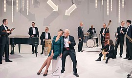 Promotional photo of Pink Martini.