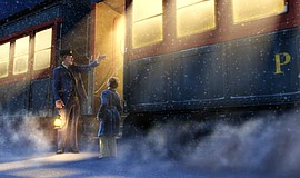 "Film still from ""The Polar Express."""