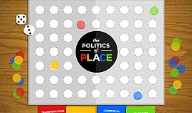 Promotional graphic for PechaKucha V.26 The Politics Of Place.