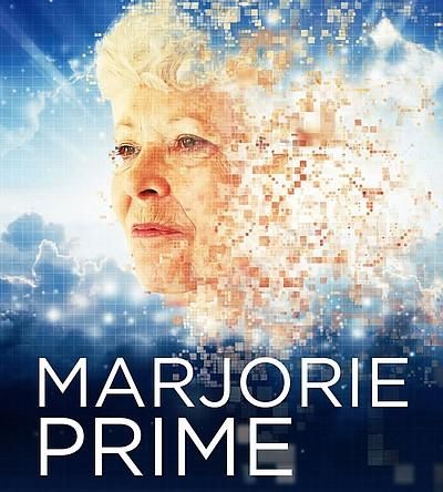 "Promotional graphic for North Coast Repertory Theatre's ""Marjorie Prime."" The production will run from Jan. 11, 2017 - Feb. 5, 2017."