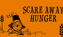 Promotional flier for Feeding America San Diego's Scare Away Hunger event.