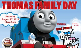 "Promotional photo for ""Thomas Family Day!"" Courtesy of SDMRM."