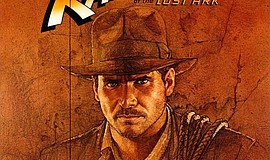 "Cropped version of the ""Raiders of the Lost Ark"" movie poster."