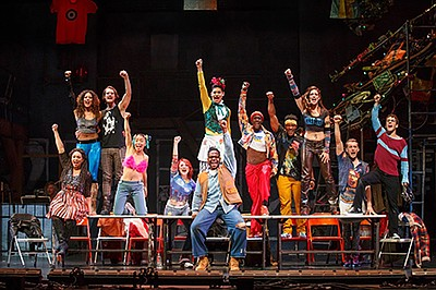 "Photos from ""Rent"" 20th Anniversary Tour, by Carol Rosegg."