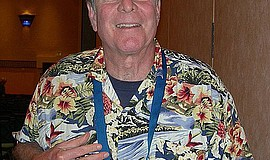 Richard Lederer at the 2006 Mensa World Gathering.