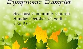 Promotional graphic for the Symphonic Sampler.
