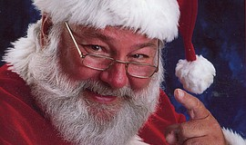 Promotional photo for Flower Hill Promenade's Breakfast with Santa.
