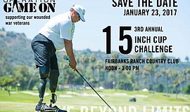 Promotional graphic and photo for 15-Inch Cup Challenge Benefiting Operation ...