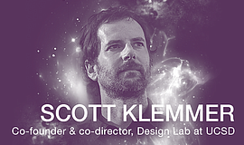 Promotional photo of Scott Klemmer, co-founder and co-director of the Design ...