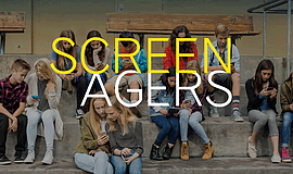 "Promotional photo for the ""Screenagers"" film."