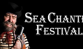Promotional graphic for the Sea Chantey Festival.