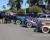 Photo of a previous Greenwood Memorial Park car show.