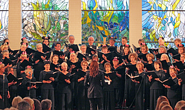 The Peninsula Singers singers perform. Courtesy of Peninsula Singers San Diego.