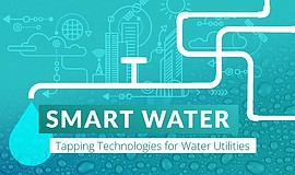 Promotional graphic for the Smart Water: Tapping Technologies for Water Utili...
