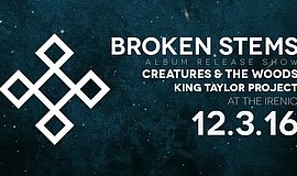 Promotional graphic for the Broken Stems album release show on Dec. 3, 2016.